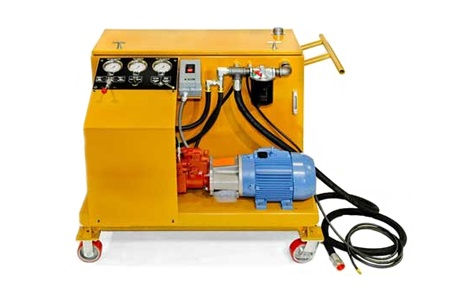 Hydraulic cylinder repair bench